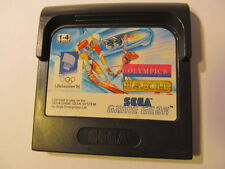 SEGA GAME WINTER OLYMPICS LILLEHAMMER 1994 GAMY BY U.S GOLD (cartridge only)