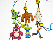 Takara Tomy Disney Toy Story 3 strap Figure Gashapon (full set of 6 figures)