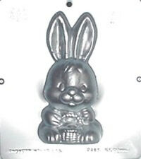 """6 3/4"""" Bunny Front Chocolate Candy Mold Easter  893 NEW"""