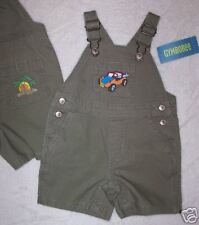 NWT 12-18 Months Gymboree SURF CAMP Surfboard Buggy OVERALLS Shortall
