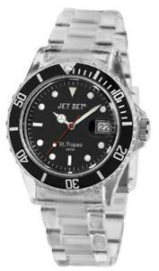 Neuware  Herrenuhr Armbanduhr Jet Set Miyota Werk  Neue Batterie liegt bei  #069