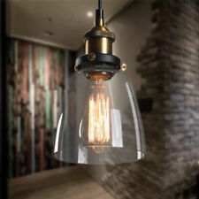 Loft Edison Hängelampe Glas Hängeleuchte Vintage Retro Pendelleuchte LED