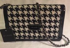 St. John Houndstooth Herringbone Crossbody Bag NWT GORGEOUS In Stores Now!