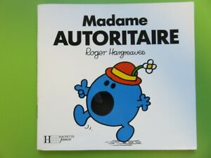 Madame Autoritaire - Roger Hargreaves - Hachette Jeunesse