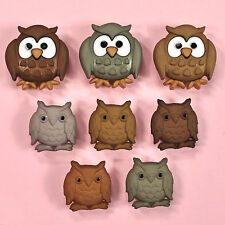 DRESS IT UP Buttons Whoo 5817 - Owl Owls