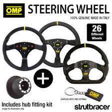 OMP Steering Wheel & Hub fits VAUXHALL CORSA C 00-06 (21mm) ASTRA MK4 ALL 98-04