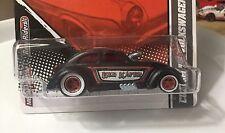 Hot Wheels Garage Custom 56 Volkswagen Drag Beetle Vw Bug 1/64Real Riders Black