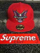 New Era Dipset Diplomats Red Fitted Hat 5950 Size 7 1/8 Supreme Limited Yeezy