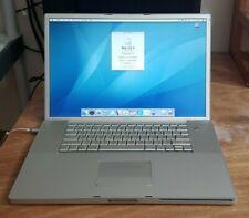 "Apple Powerbook G4 17"" 1.56GHz CPU 1.5GB RAM 93GB HDD A1085"