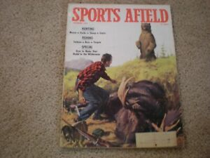 Sports Afield Magazine Sept 1959- Hunting, Fishing, How To Make Your Home