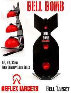 Bell Bomb -  Bell Target - Airgun Rifle Air Pistol  Airsoft