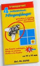 8 Stück Fliegenfänger mit Motiv gegen Fliegen, Insekten geruchlos,selbstklebend