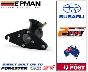 EPMAN vented Blow Off Valve for Subaru WRX / STI Forester Bolt on  BOV Black