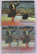 2 mc ANTONELLO VENDITTI Da san siro a samarcanda 1992 Italy HEINZ no cd lp vhs