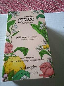 Philosophy Amazing Grace Bergamot 120ml Genuine QVC