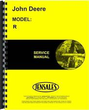John Deere R Tractor Service Manual (1917) JD-S-SM2005