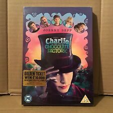 CHARLIE AND THE CHOCOLATE FACTORY DVD NEW SEALED Johnny Depp