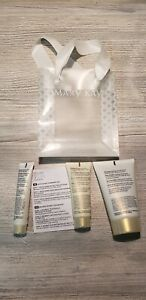 Mary Kay DELUXE MINI/TRAVEL Size Satin Hands Pampering Set WHITE TEA & CITRUS