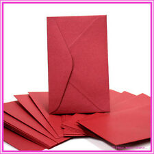 11B Metallic Red Lacquer Envelopes - Pack of 25