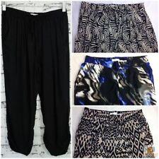 Viscose Harem Machine Washable Regular Size Pants for Women