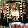 Photo Frame Photo Props Creative 30/40/50/60 Birthday Party Decoration