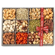 Mixed Nuts Gift Baskets Holiday Gift Tray 12 Variety - Oh! Nuts