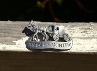 1990 Amish Country Horse Carriage Cart Refrigerator Fridge Magnet by Josef