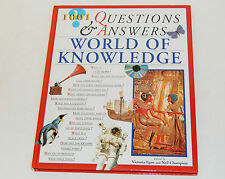 1001 Questions and Answers World of Knowledge Hardcover 2000