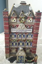 Dept 56 Dickens Village Hospital For Sick Children At Ormond Street See Descrip.
