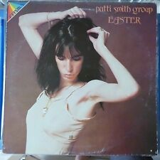 PATTI SMITH GROUP LP EASTER 1980 ITALY REISSUE VG+/VG++ INSERT