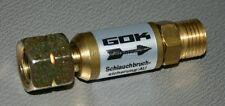 Schlauchbruchsicherung 30 mbar, Gasdruckregler, Regler, Druckminderer, Sicherung