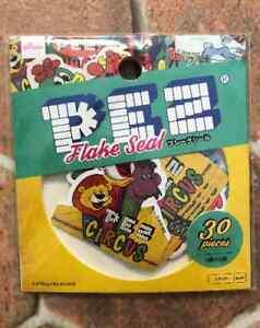 PEZ Flake Stickers Sticker 30 Paper Japanese  DIY  Scrapbooking Ye