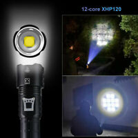 XHP90/XHP100/XHP160 LED Taschenlampe Zoomable Torch Outdoor Jagdlicht telescopic