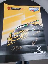 Meyer Shank Racing Acura Motorsports CAT NSX GT3 EVO Racing Poster