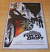 The Fast and the Furious Tokyo Drift 11X17 Movie Poster