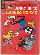 Deputy Dawg Presents Dinky Duck And Hashimoto-San #1 Gold Key 1965 Silver Age