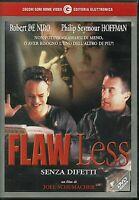 FLAW LESS  SENZA DIFETTI (1999)un film di Joel Schumacher DVD USATO CECCHI GORI