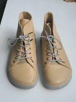 RARE FIND! Birkenstock Footprints Beige Leather Chukka Ankle Boot Sz 37