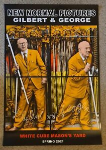 Gilbert and George - New Normal Pictures [Burnside Close] *Signed*