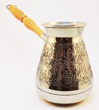 Zodiac Turkish Coffee Pot Cezve Ibrik Arabic Greek Jezve Turka Copper 500ml New