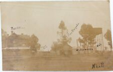 .RARE 1906 REAL PHOTO POSTCARD NHILL, VICTORIA.