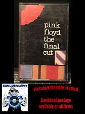 Pink Floyd - the Final Cut - rock cassette PC 7817