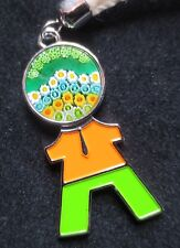 """Murano Glass Keychane or Bag Charm """"Little Boy"""" Made In Murano, Italy"""