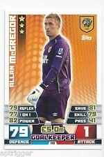 2014 / 2015 EPL Match Attax Base Card (110) Allan McGREGOR Hull