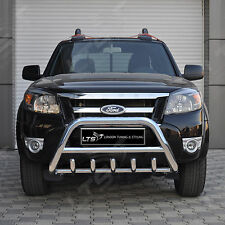 FORD RANGER WILDTRAK CHROME AXLE NUDGE A-BAR BULL BAR 2006 2011 MODELS