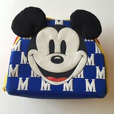 Vintage Disney Mickey Mouse with Popup Ears Insulated Lunch Bag Storage Bag