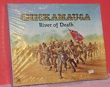 CHICKAMAUGA RIVER OF DEATH Board Game Phoenix Enterprises 105-4302 (SEALED) 1983