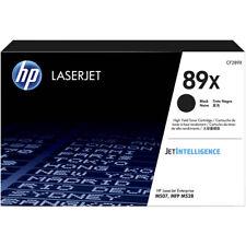 HP #89X No. 89X Black High Yield Laser Toner Cart CF289X For LASERJET M528 M507