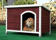 "Petsfit Outdoor Waterproof Dog House Medium 40.8"" X 26"" X 27.6"" Red"