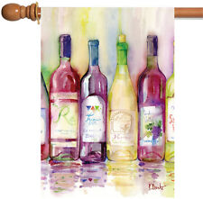 NEW Toland - Reds and Whites - Red White Pinot Zinfandel Wine Vino House Flag